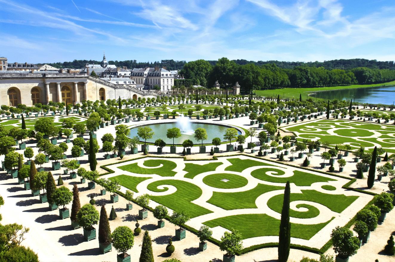 Visite Du Chateau De Versailles Et De Ses Jardins Two French Explorers